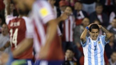Paraguay y Argentina empatan 0-0 en segunda fecha de Eliminatorias Rusia 2018