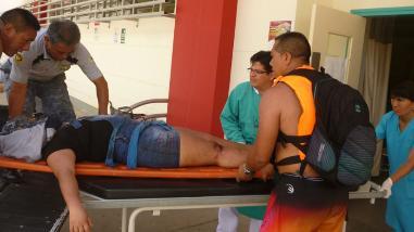 Chanchamayo: alumna cae a barranco y queda al borde de la muerte