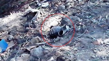 Trujillo: Hallan granada tipo piña a metros de jardín de niños