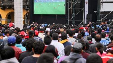 Perú vs. Chile: instalarán pantalla gigante en Plaza de Armas de Lima