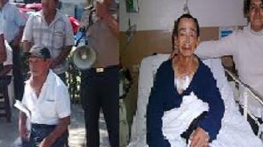 Exitosa operación a humilde poblador que tenía tumor en el cuello