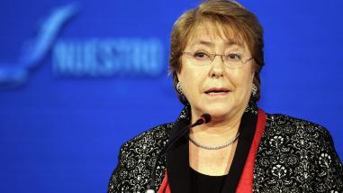 Michelle Bachelet anuncia nueva constitución para Chile