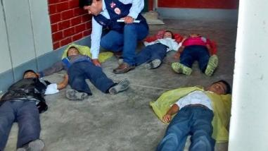 Más de 300 mil estudiantes participaron del simulacro de sismo