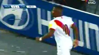 Perú vs. Chile: Jefferson Farfán empató la cuenta con un violento remate
