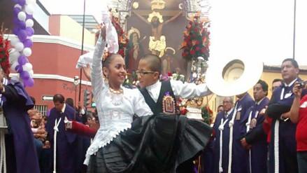 Señor de los Milagros de Trujillo realizó cuarto recorrido procesional