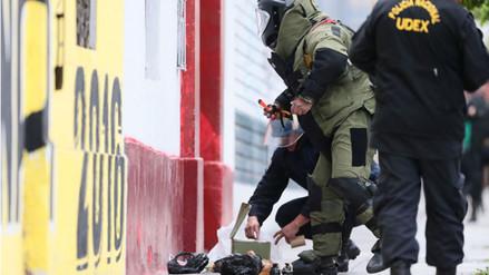 Robo de granadas: Mindef pide a Fiscalía formalizar denuncia