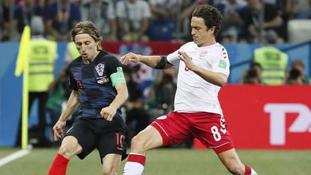 5 datos que dejó el vibrante duelo entre Croacia y Dinamarca por octavos