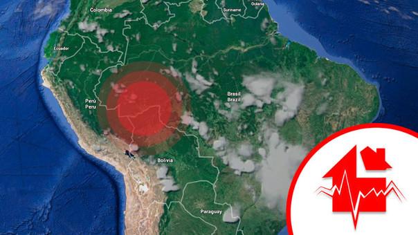 Sismo remece regiones del Centro y Sur del país