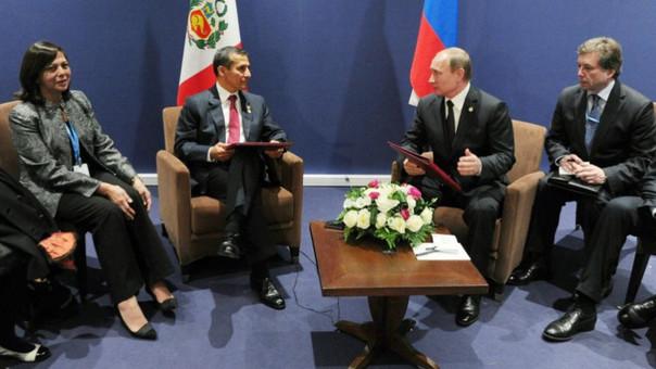 Ollanta Humala_Vladímir Putin
