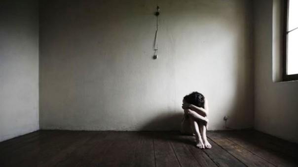 Mujer con enfermedad mental
