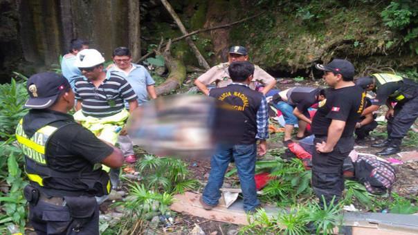 Accidente en Chanchamayo