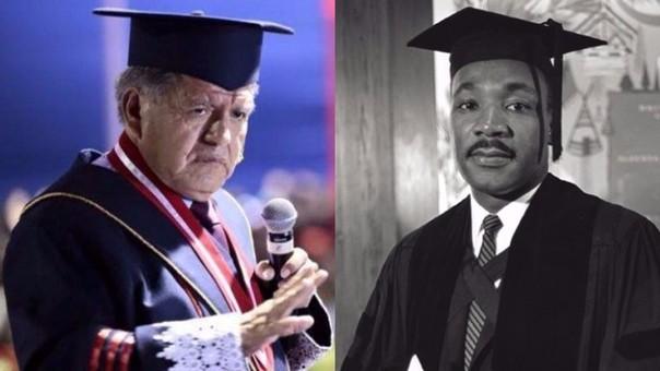 Favre compara a César Acuña con Martin Luther King