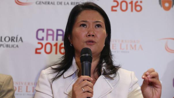 Keiko Fujimori: Mi padre cometió el