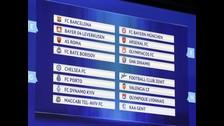 Champions League: Conoce el calendario de la fase de grupos