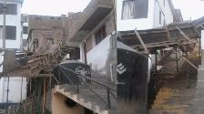 Pucusana: construcción sin medidas de seguridad pone en riesgo a vecinos