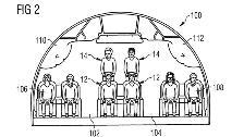 Patente registra cabinas de avión con mezanine