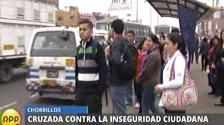 Seguridad ciudadana: RPP recorre las calles de Chorrillos