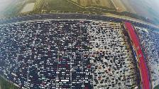 YouTube: este es el caótico tráfico vehicular que se vivió en China