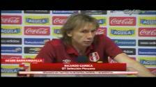 Perú vs. Colombia: Ricardo Gareca señaló que resultado no reflejó lo que sucedió en el campo