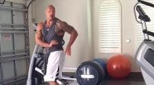 WWE: The Rock causa furor en Instagram con peculiar estilo de baile