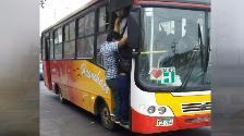 Exceso de pasajeros genera inseguridad en calles de Trujillo