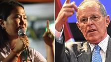 Keiko Fujimori y Kuczynski lideran intención de voto, según CPI