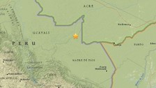 Indeci: Sismo que se sintió en regiones