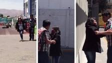 Mujer embarazada que fue agredida no denunciará a su pareja