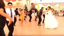 Facebook: coreografía de huaylas en boda es aplaudida en redes sociales