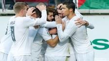 Real Madrid ganó 2-0 en su visita al Eibar y sigue al acecho del Barcelona