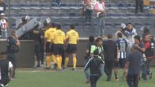 Alianza Lima: hinchada le lanzó de todo al plantel tras empatar con Vallejo (VIDEO)