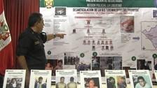Entre 8 y 10 organizaciones criminales aún operan en la región