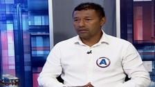 Roberto 'Chorri' Palacios y su confusa respuesta en plena entrevista
