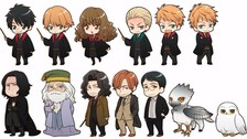 Así lucen los personajes de Harry Potter al estilo de anime