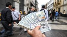 Dólar cerró la jornada cambiaria bajando a S/ 3.477
