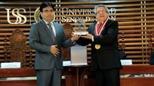 Escuela de Psicología de la USS recibió certificado de acreditación por el SINEACE