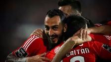 André Carrillo: Benfica goleó a 5-0 a Belenenses y asume el liderato de la Liga Zon Sagres