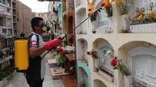 Huaral: fumigan cementerios para prevenir el zika