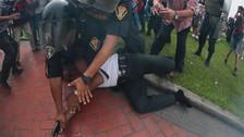 Pasarán al retiro a suboficial PNP detenido en plaza Dos de Mayo