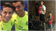 Facebook: Cristiano Ronaldo pasa su cumpleaños entrenando con el Real Madrid (FOTOS)
