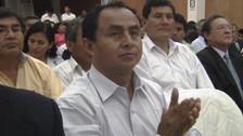 Juzgado resolverá pedido de cese de prisión de Gregorio Santos