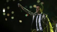 Super Bowl 50: Bruno Mars se une al show de medio tiempo con Coldplay y Beyoncé