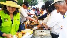 Huancayo: más de doscientas personas degustan la pachamanca