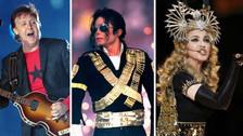Super Bowl: 10 mejores presentaciones musicales en el medio tiempo