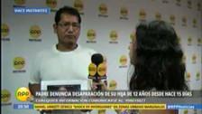 Padre denuncia desaparición de su hija de 12 años