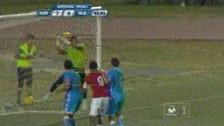 Juan Aurich vs. La Bocana: Ricardo Buitrago y el gol olímpico con blooper incluido