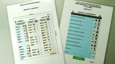 ONPE: Cédulas de sufragio para las elecciones tendrán tres cuerpos