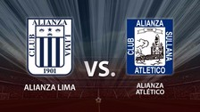 Alianza Lima vs. Alianza Atlético en vivo: 'íntimos' pierden 1-0 en Matute