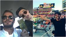 Super Bowl 50: Kaka, David Beckham y los deportistas en la final de la NFL (FOTOS)
