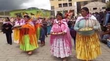 """Tradicional """"taripakuy"""" se realizó con motivo del carnaval en Puno"""